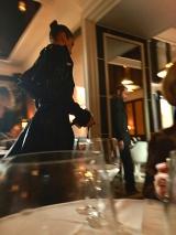 <h5>LouLou</h5><p>bella hadid im restaurant loulou</p>